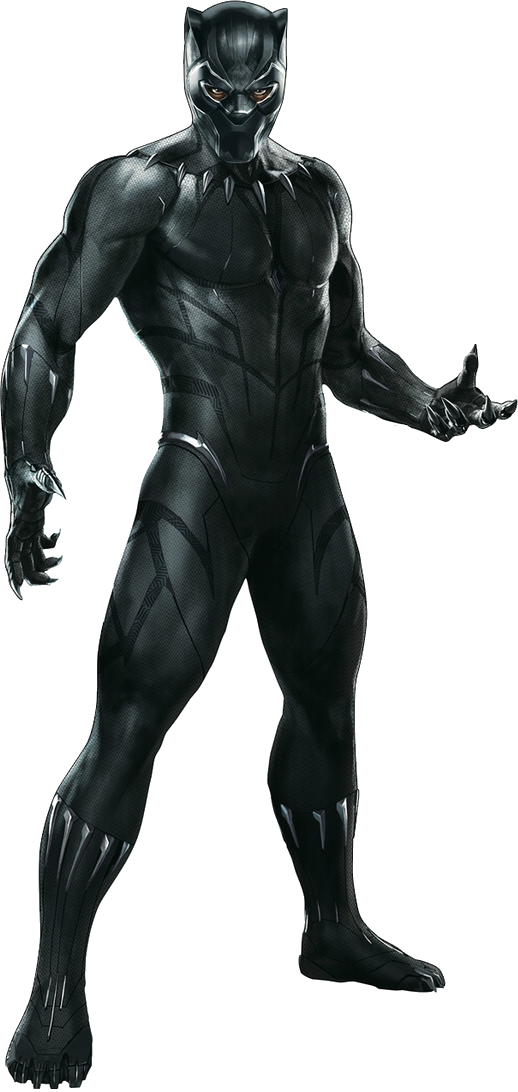 Black panther png. Avengers infinity war by