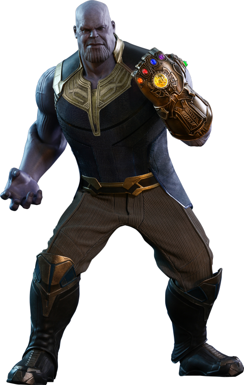 Avengers infinity war thanos png. Hot toys sonnertoys