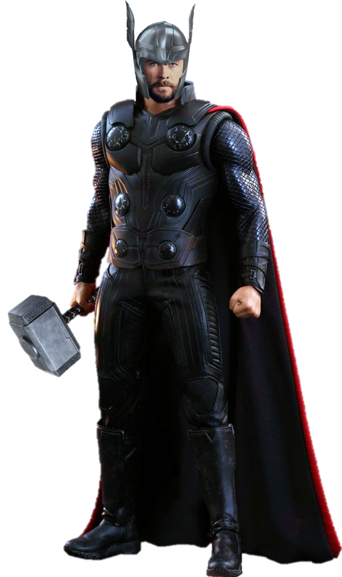Avengers infinity war thanos png. Thor by gasa on
