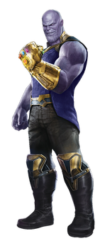 Thanos png. Avengers infinity war by