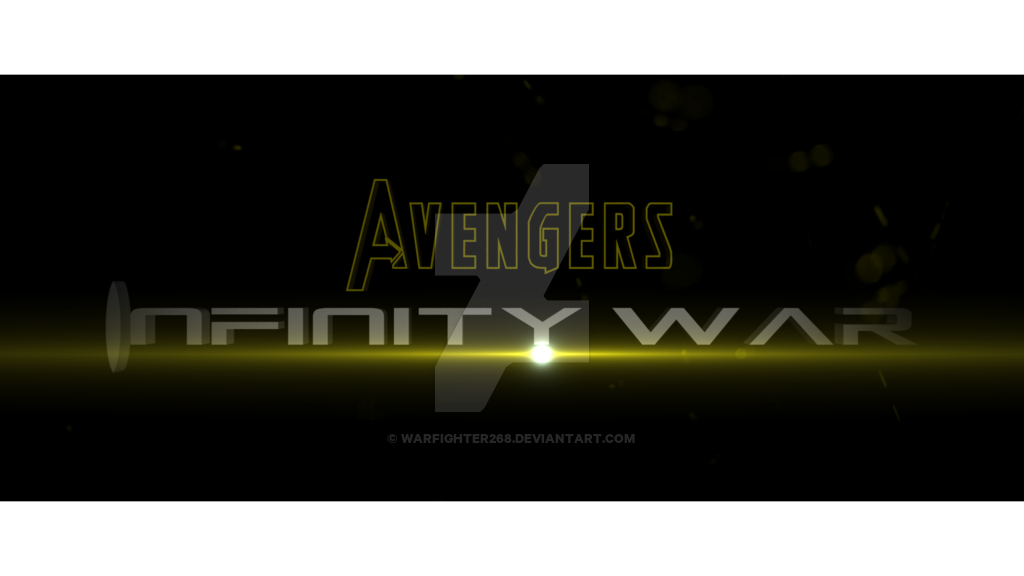 Avengers infinity war title png. The promo by warfighter