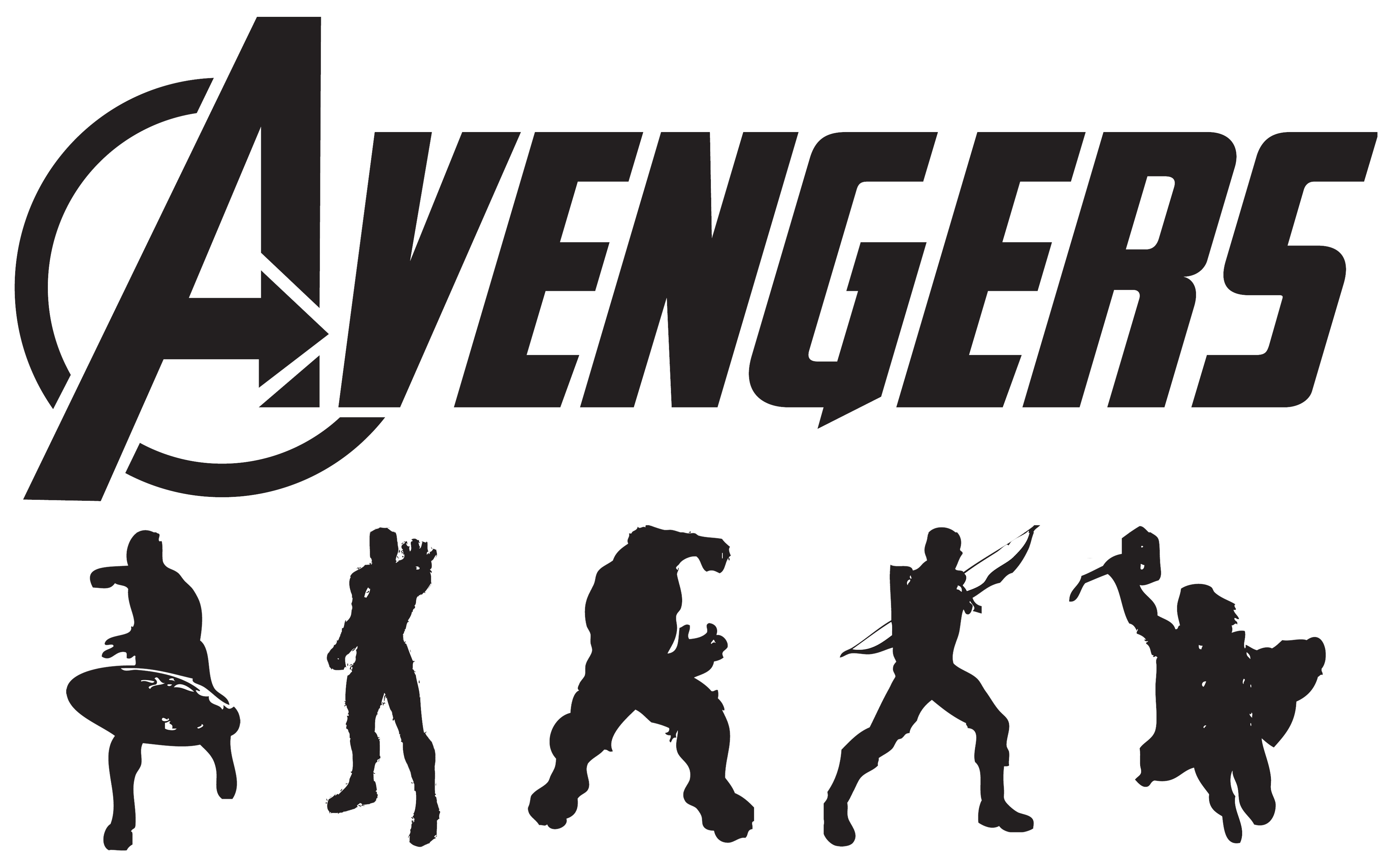 Avengers silhouette png. Submitted by modsoft art