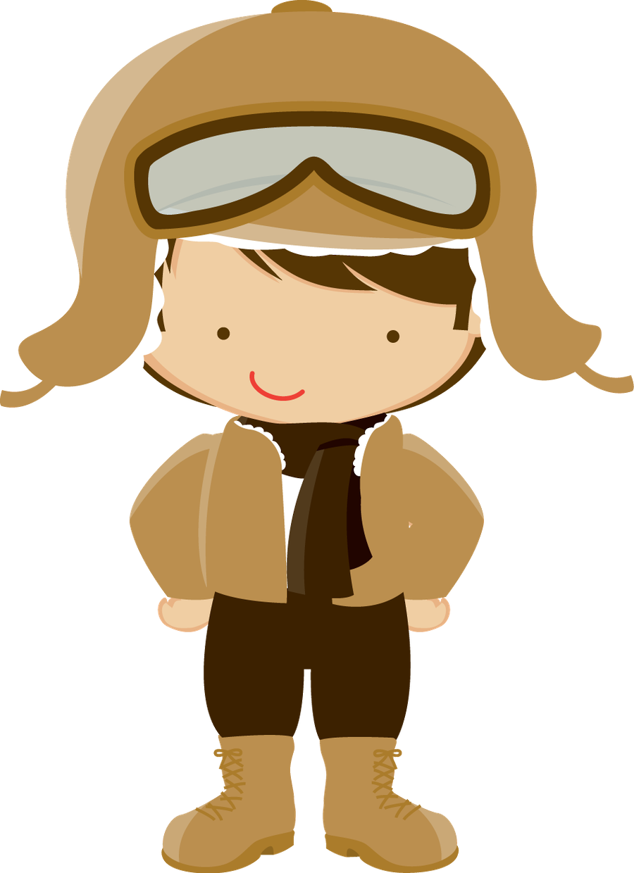aviator clipart boy