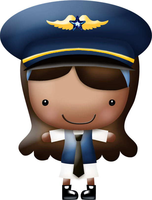 Nbeaudreau intheclouds girl png. Pilot clipart vector freeuse library