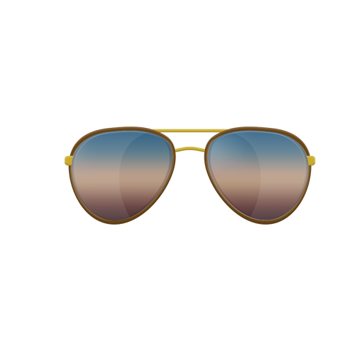 Transparent aviators svg. Blue aviator sunglasses png