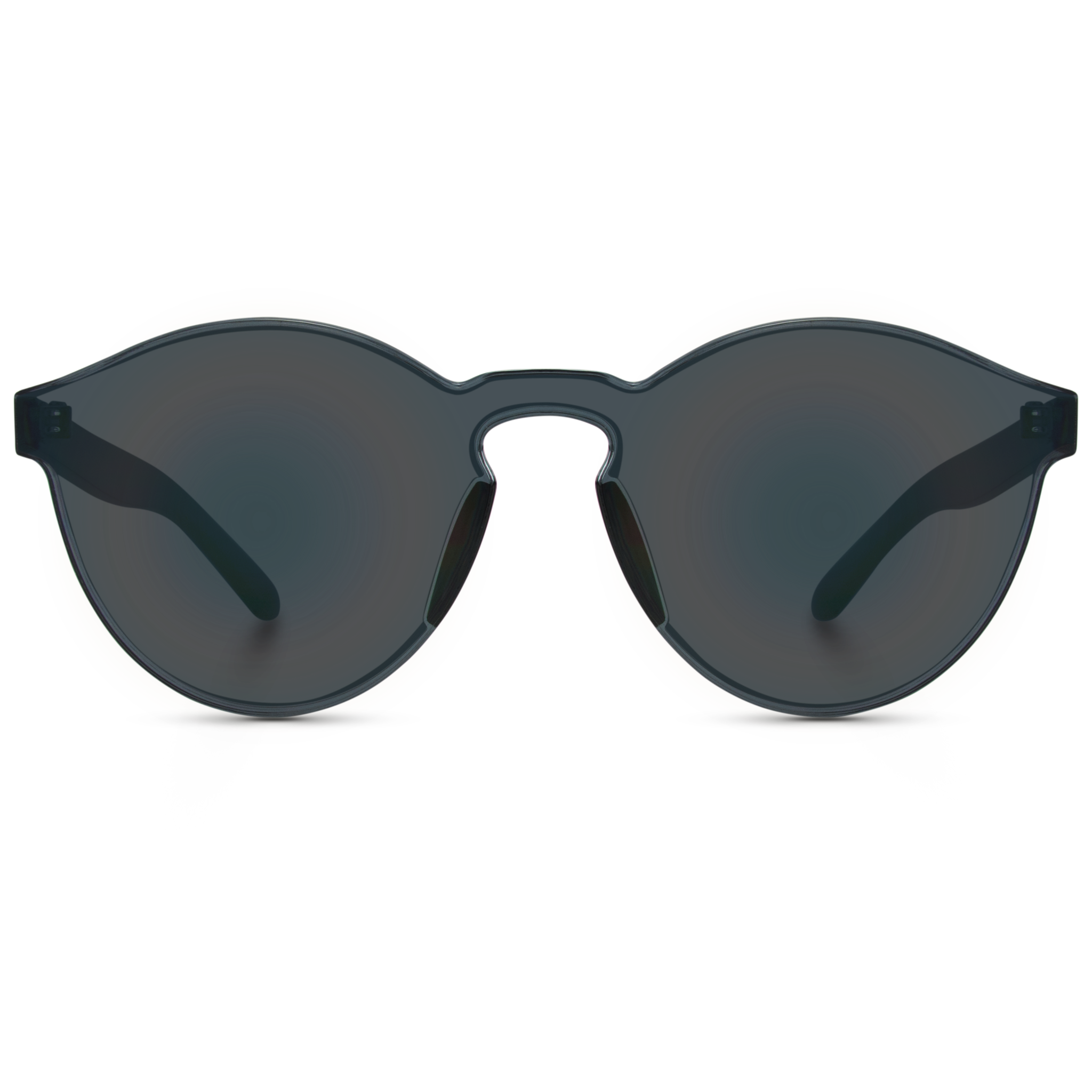 Aviators transparent. Affordable colorful round women