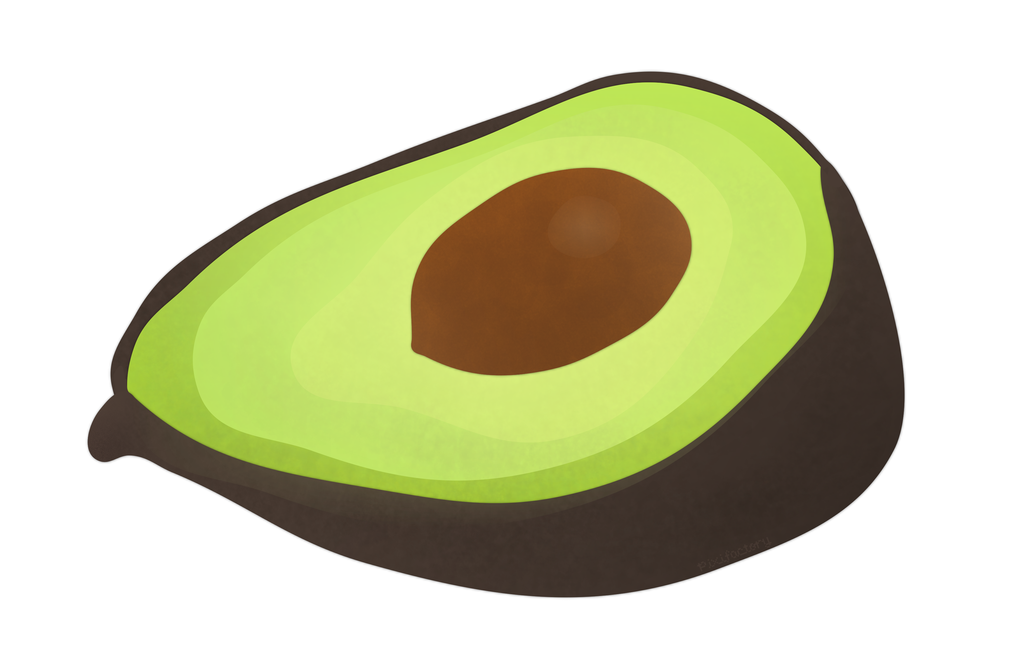 Avocado clipart green veggy. Vegetable clipground with transparent
