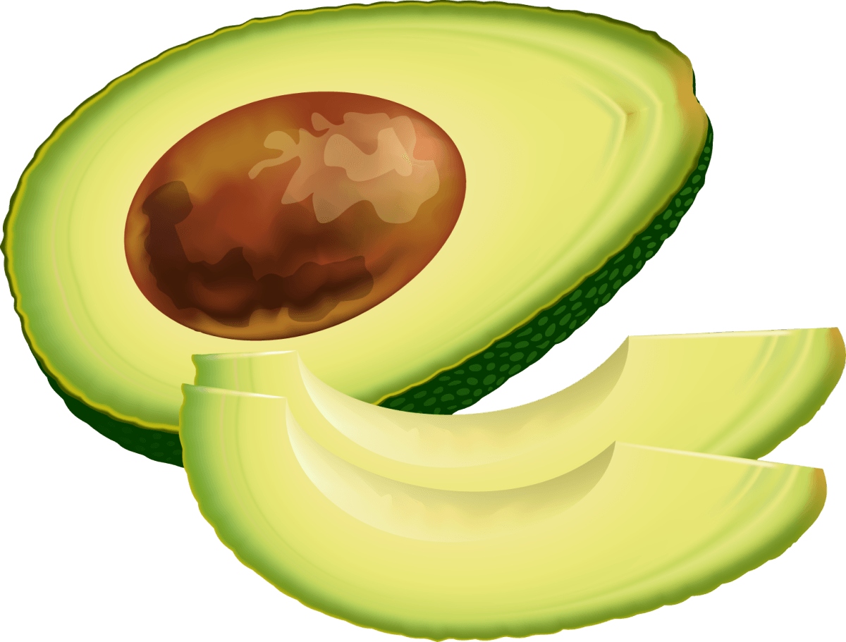 Avocado clipart green veggy. Keep avocados from turning