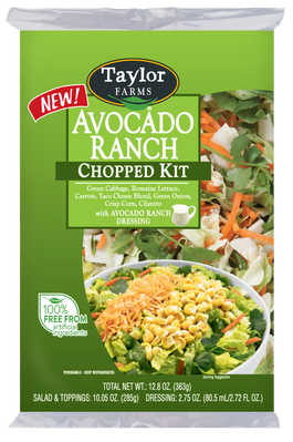 Avocado clipart green veggy. Ranch chopped kit taylor