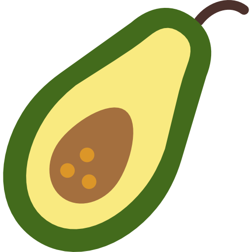 Avocado clipart vector. Free icons designed by