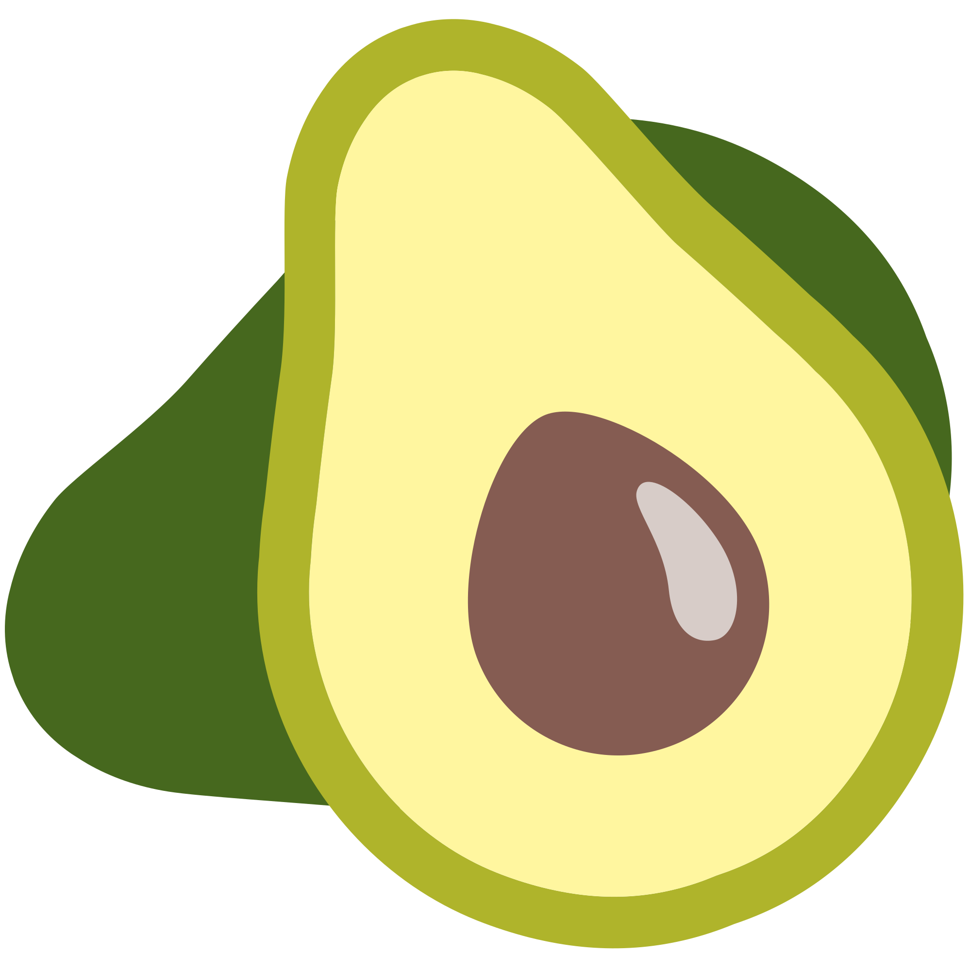 Avocado emoji png. File u f svg