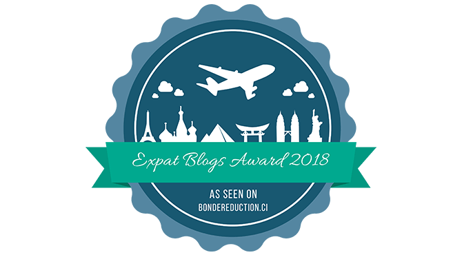 Award banner png. Banners for expat blogs