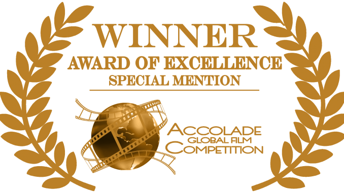 Award transparent excellence. Winner of accolade awards