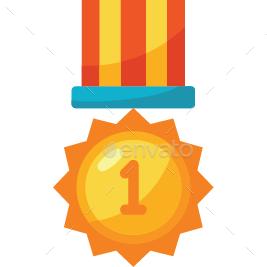 Award transparent icon. Trophy and icons by