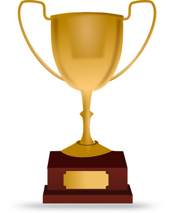 Award transparent participation. Star image library