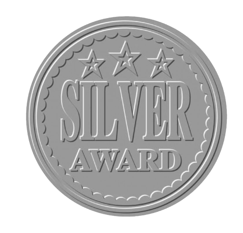 Award transparent silver. Categories fke employer of