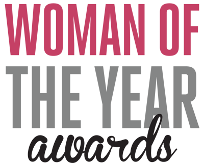 Award transparent woman. Of the year