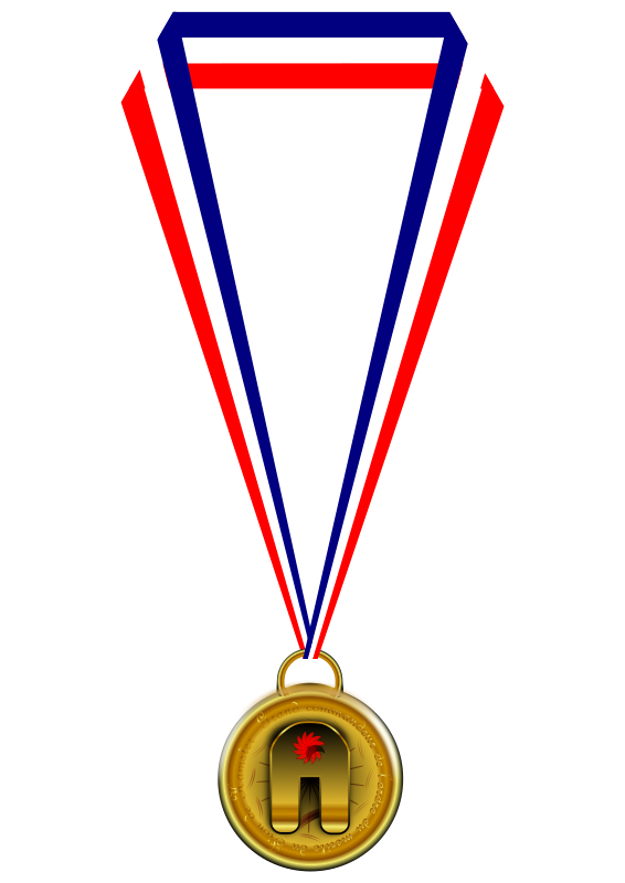 Medallion vector award. Free metal cliparts download