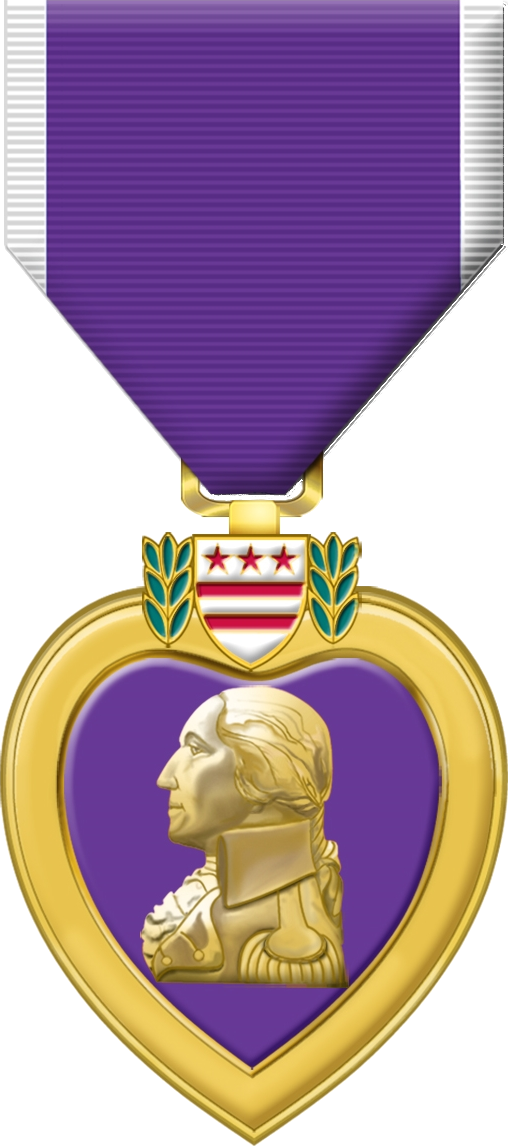 purple heart medal png