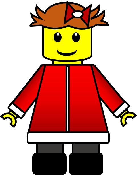 Awesome clipart cool kid. Christmas lego inspired kids