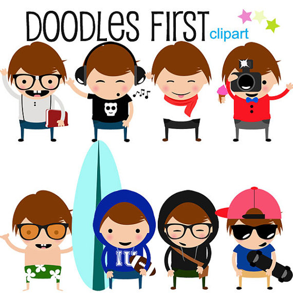 Awesome clipart cool kid. Hip and kids digital