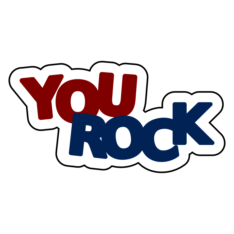 rockstar clipart rock test