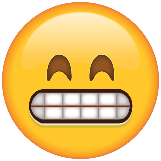Emojis whatsapp png. Download grinning emoji with