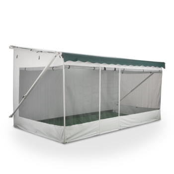Awning vector canopy. Patio rooms tents dometic