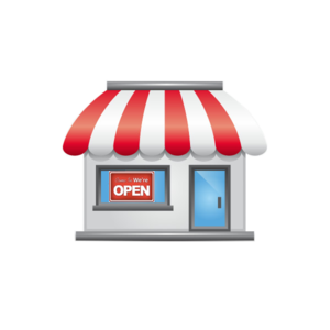 Awning vector cartoon. Storefront final free images