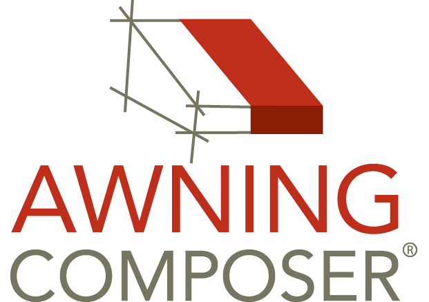 Awning vector colorful. Advanced faq composer