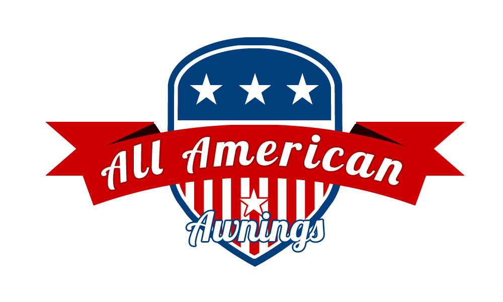 Awning vector sun shade. All american awnings just