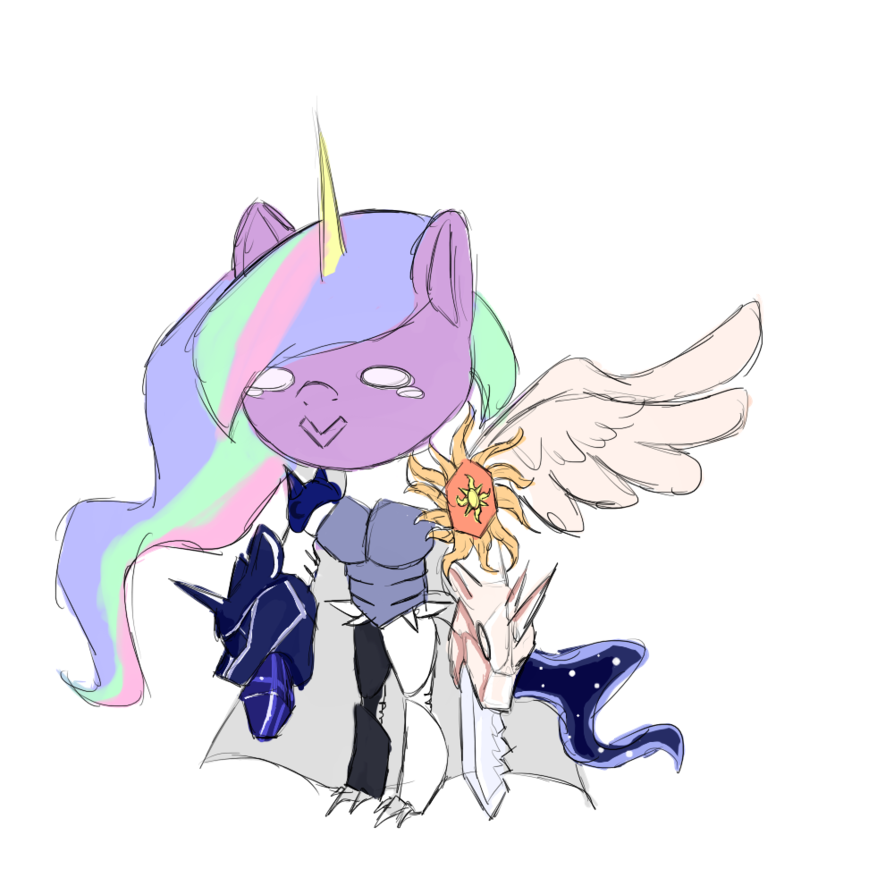 Discord drawing anime. Equestriamon chibi color by