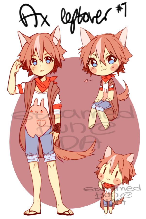 Ax drawing anime. Leftover adopt ended by
