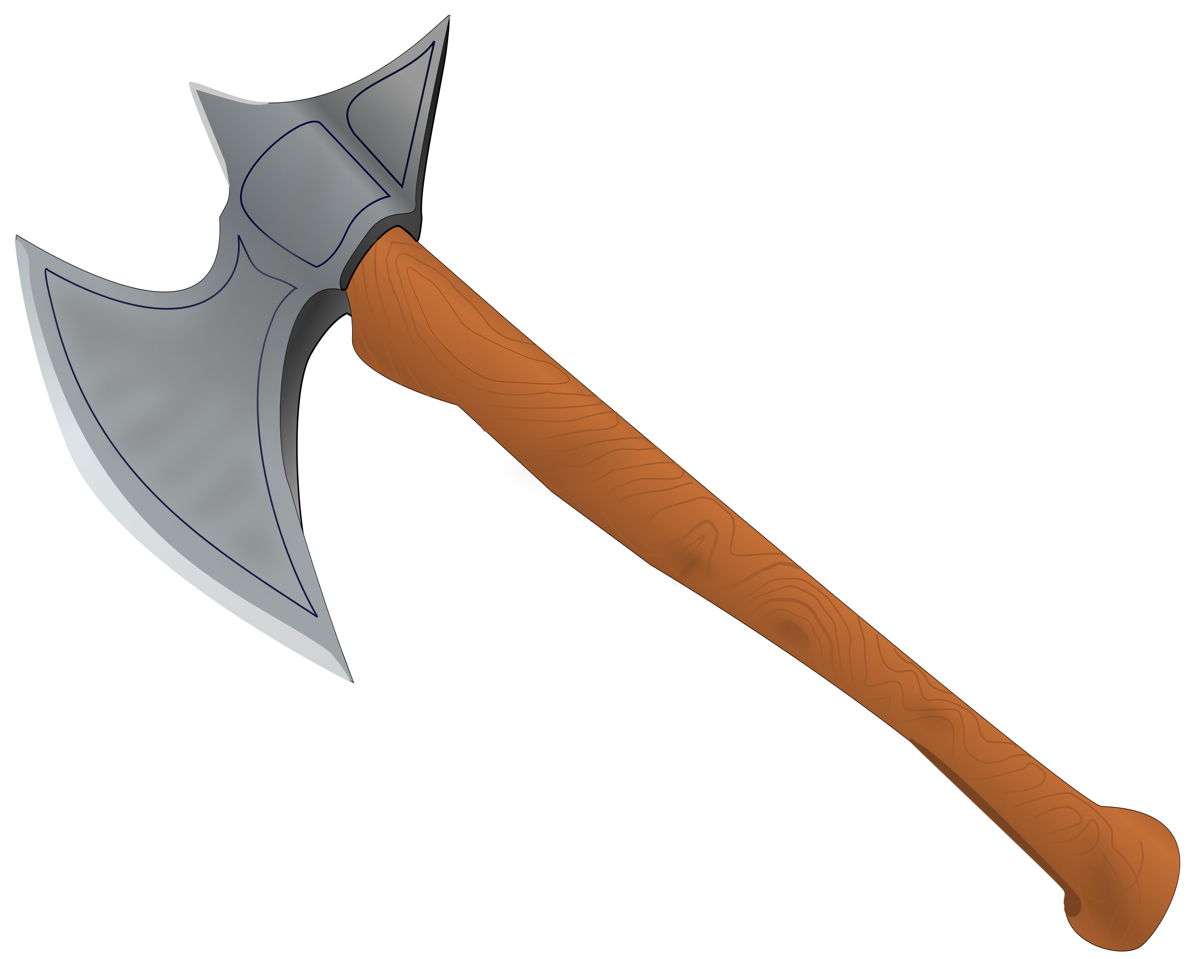 Medieval clipart hut. Top battle axe drawing