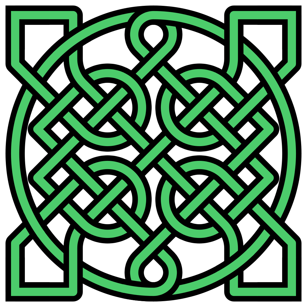 Ax drawing celtic. Knots workshop westerly library