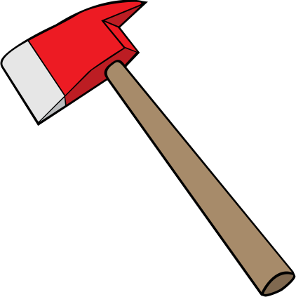 Ax drawing axe line. Firefighter svg freeuse