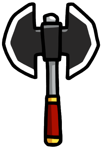 Ax drawing war axe. Battle scribblenauts wiki fandom