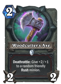 Ax drawing warrior axe. Woodcutter s hearthstone wiki