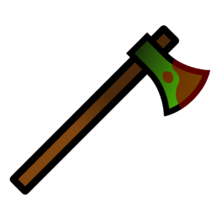 Ax drawing wooden axe. Wood surviv io wiki