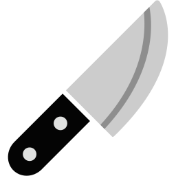 Ax vector chef knife. Icon myiconfinder