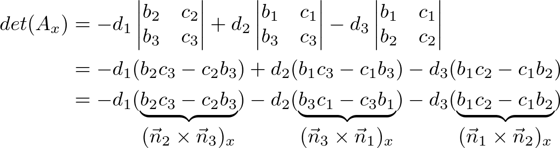 Ax vector pick. Plane equation in a