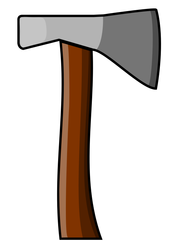 Ax drawing colonial. Axe clipart medieval battle