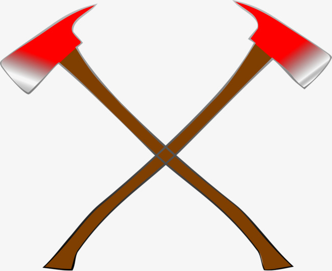Axe clipart cartoon war. Ax double arms png