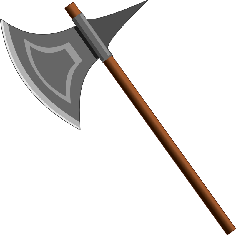 Axe clipart cartoon war. Medium image png