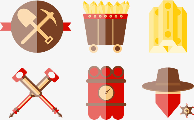 Axe clipart mining. Gold by excavation shovel