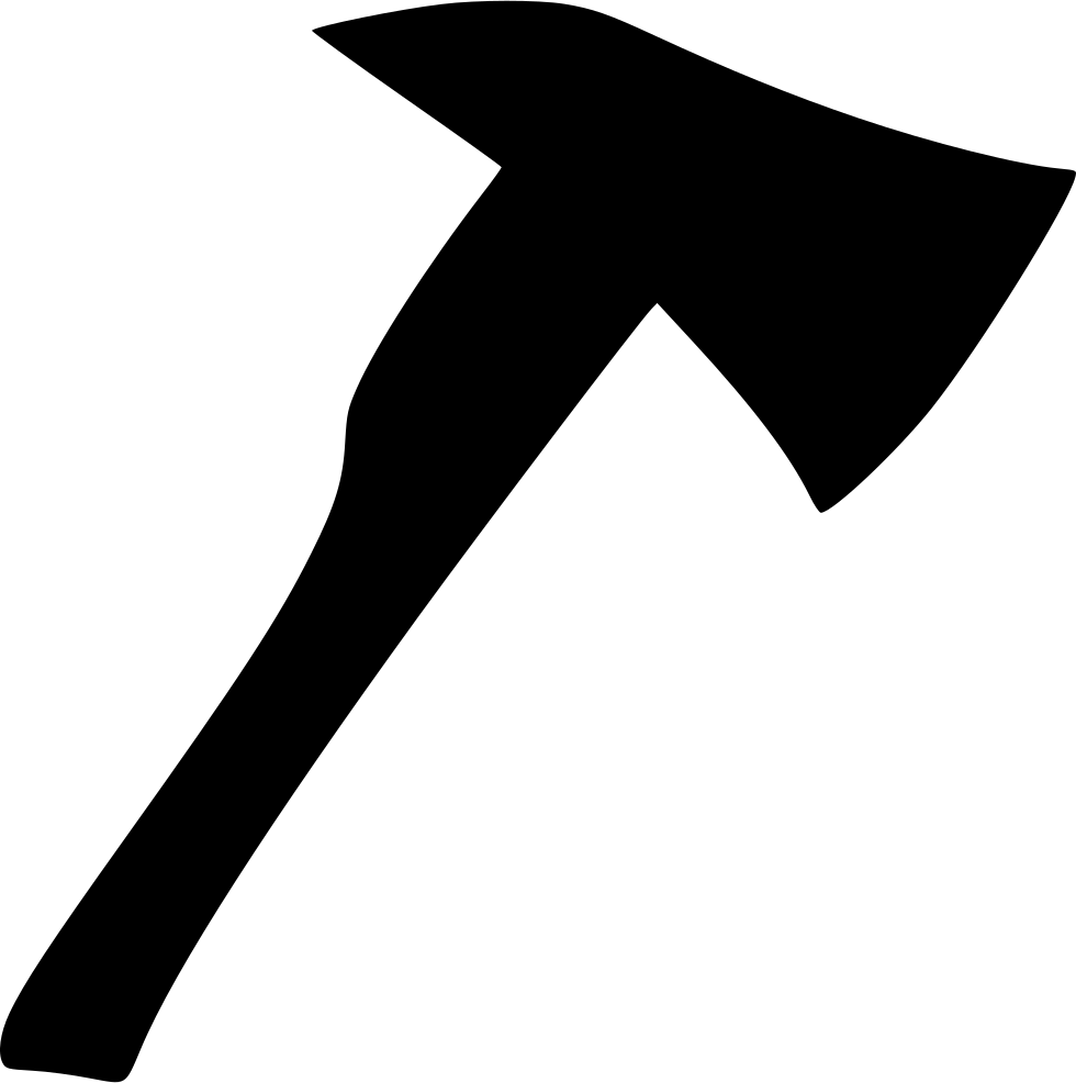 Ax drawing easy. Fire axe svg png