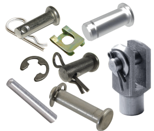 Axle clip metal. Pins and clips dt