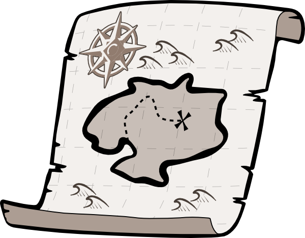 Map clipart empty street. Free pirate download clip