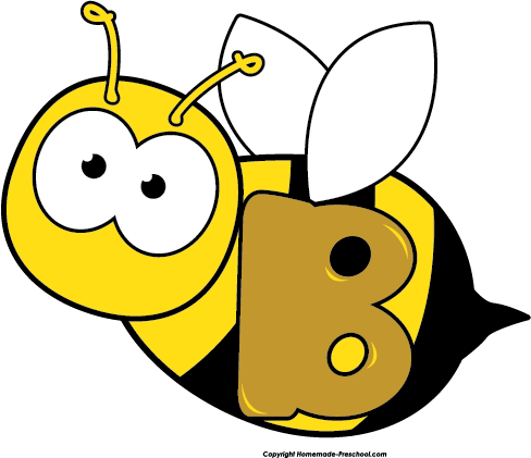 shapes clipart bee