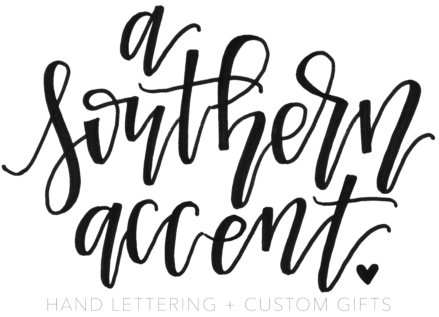Drawing instrument lettering. A southern accent